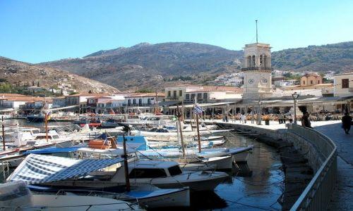 Zdjęcie GRECJA / Peloponez / Nafplion / port
