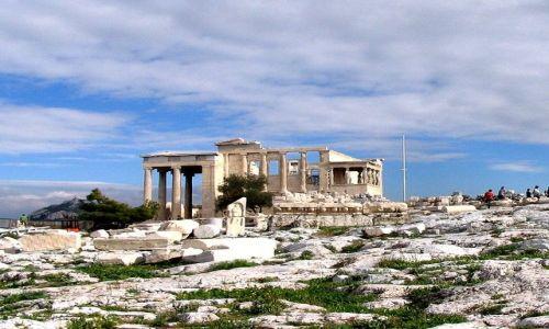 Zdjęcie GRECJA / Attyka / Ateny / piękno Akropolu  -   Erechtejon z kariatydami