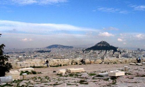 Zdjęcie GRECJA / Attyka / Ateny / widok z Akropolu