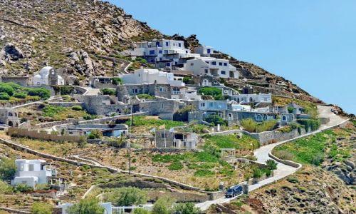 Zdjęcie GRECJA / Cyklady / Mikonos / Zamieszkana skała na Mikonos