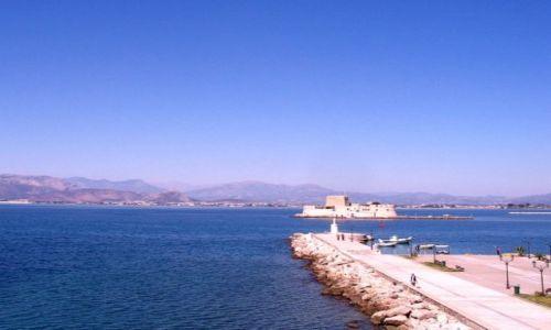 Zdjęcie GRECJA / Peloponez - Zatoka Argolidzka / Nafplion / molo