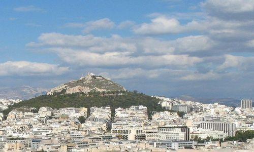 Zdjęcie GRECJA / Attyka / Ateny / tajemnicze wzgórze - z Akropolu