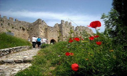 Zdjecie GRECJA / Tesalia / Zamek w Platamonas / Wiosna na zamku