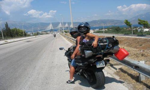 Zdjecie GRECJA / północna Grecja / most Rio-Antirro / grecja by moto