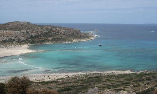 Zdjecie GRECJA / Kreta / plaża Balos / Gorąca Kreta