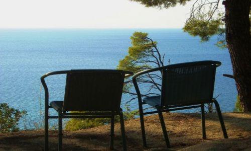 Zdjecie GRECJA / Chalkidiki / Płw. Kassandra / gdzieś na  zach. wybrzeżu / w oczekiwaniu na...
