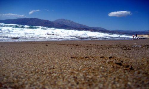 Zdjecie GRECJA / Południowa Kreta / Kolejna odkryta plaża / Plaże Krety