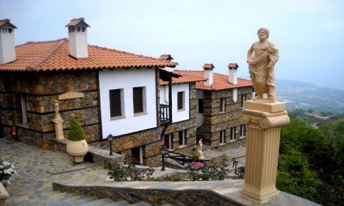 Zdjecie GRECJA / Tesalia / Paleos Panteleimonas / troczę kiczu nie zaszkodzi
