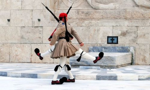 Zdjecie GRECJA / Ateny / Ateny / lustro