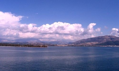 Zdjęcie GRECJA / Epir / Igoumenitsa / Igoumenitsa z morza