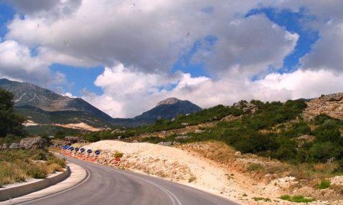 Zdjęcie GRECJA / Epir / na trasie z Epiru do Tesalii / w drogę