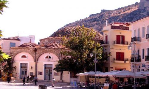 Zdjęcie GRECJA / Peloponez / Nafplion / w cieniu twierdzy