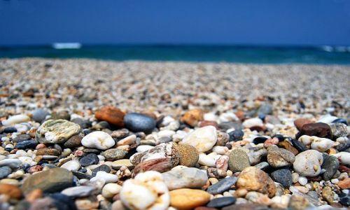 Zdjecie GRECJA / Kreta / Analipsis / konkurs-kolorowa plaża