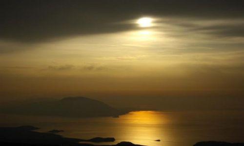Zdjecie GRECJA / - / Karpathos / Zachód słońca