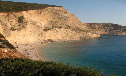 Zdjecie GRECJA / Lefkada / Porto Kacyki / Plaża