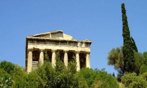Zdjęcie GRECJA / Ateny / Akropol / fragment świątyni II
