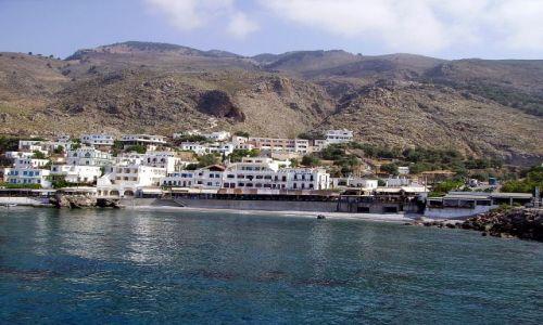 Zdjecie GRECJA / wyspa Kreta / na statku / w drodze do Wąwozu Samaria - Kreta