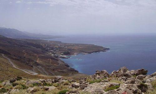 Zdjecie GRECJA / wyspa Kreta / w drodze do Matali / wybrzeże Krety