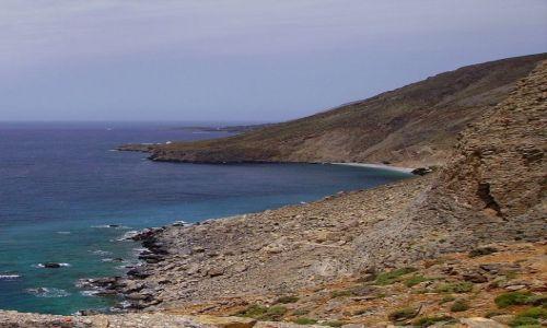 Zdjęcie GRECJA / wyspa Kreta / Kreta / strome klify wybrzeza Krety