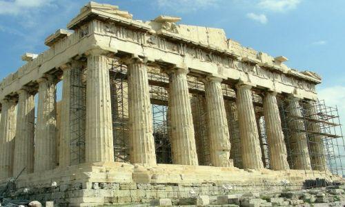 Zdjęcie GRECJA / Ateny / Akropol / Partenon