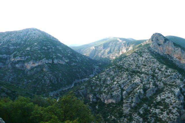 Zdjęcia: Leonidion, Peloponez, Droga do monastyru Leonidion, GRENADA