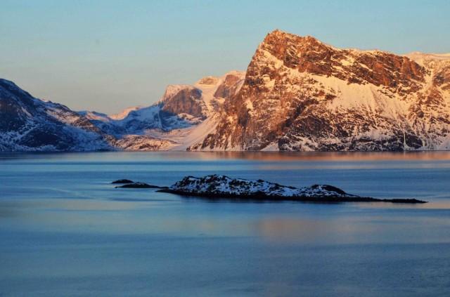 Zdjęcia: Nuuk, Sermersooq, Na bezludnej wyspie, GRENLANDIA
