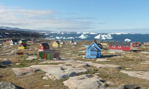 Zdjęcie GRENLANDIA / Grenlandia Zachodnia / Oqaatsut / Wioska Inuitów