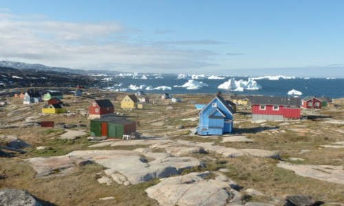 GRENLANDIA / Grenlandia Zachodnia / Oqaatsut / Wioska Inuitów