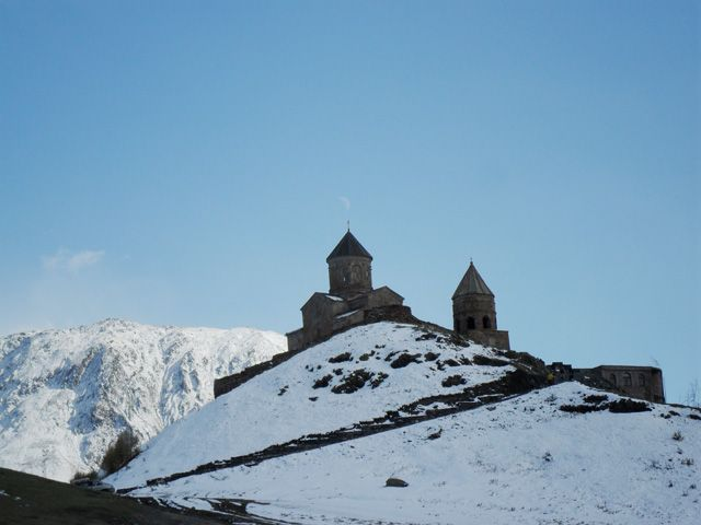 Zdjęcia: Gergeti, Gruzja, Cminda Sameba, GRUZJA