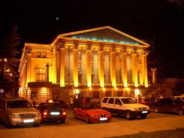 Zdj�cia: Batumi, Ad�aria, Teatr w Batumi, GRUZJA