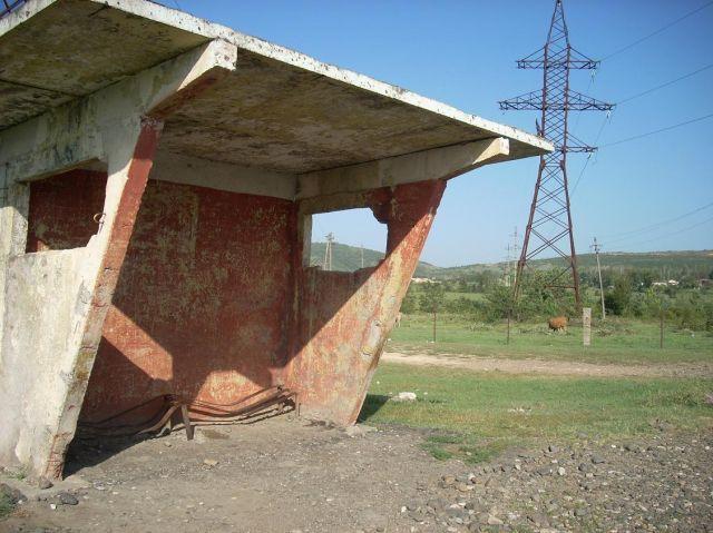 Zdjęcia: Kutaisi, Imeretia, Przystanek..., GRUZJA