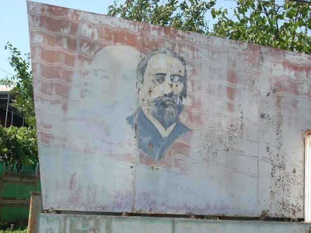 Zdjęcia: Baghradi, Imeretia, Lenin w Baghradi, GRUZJA