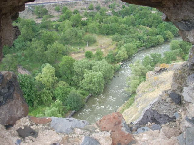 Zdjęcia: Chertvisi, Widok z Chertvisi 2, GRUZJA