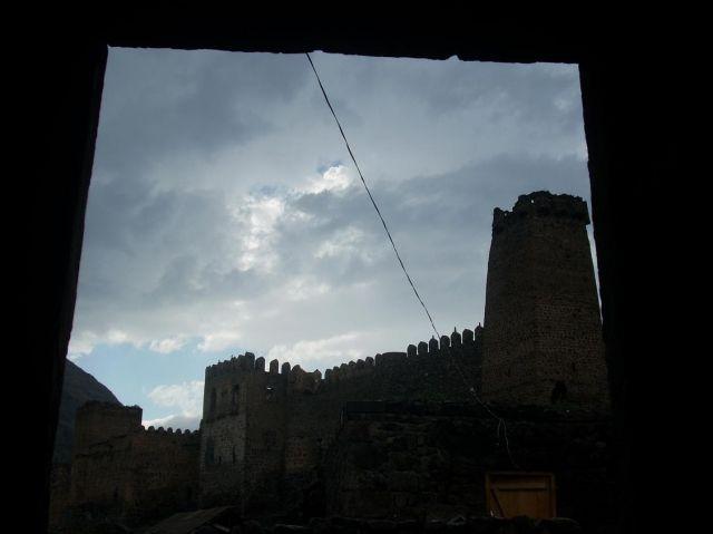Zdjęcia: Chertvisi, Ciemne chmury nad Chertvisi, GRUZJA