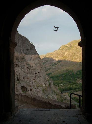 Zdjęcia: Wardzia, Bramy monastyru, GRUZJA