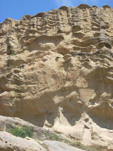 Zdj�cia: Uplicyche, Formy skalne w Uplicyche, GRUZJA