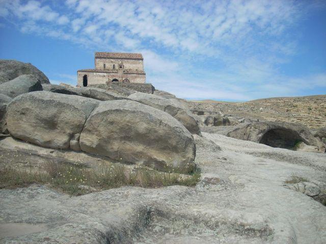 Zdjęcia: Uplicyche, Cerkiew na skale, GRUZJA