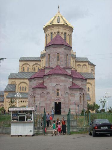 Zdj�cia: Tbilisi, Najwieksya katedra Kaukazu Cmina Sameba, GRUZJA