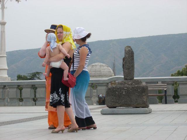 Zdj�cia: Tbilisi, Ach te mamy + pod Cmina Sameba, GRUZJA