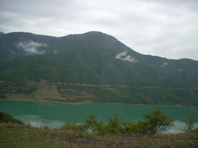 Zdjęcia: Ananuri, Ananuri na gruzinskiej drodze wojennej, GRUZJA