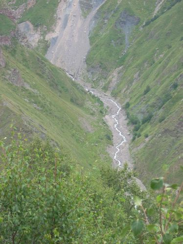 Zdj�cia: Kazbegi, Kaukaz, Strumyczek, GRUZJA