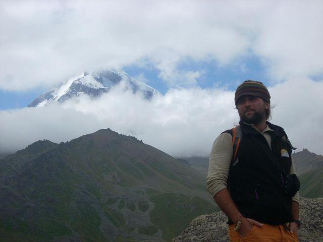 Zdjęcia: Kazbegi, Kaukaz, Pod Kazbekiem, GRUZJA