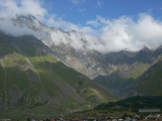 Zdjęcia: Kazbegi, Kaukaz, Po przejaśnieniu 2, GRUZJA