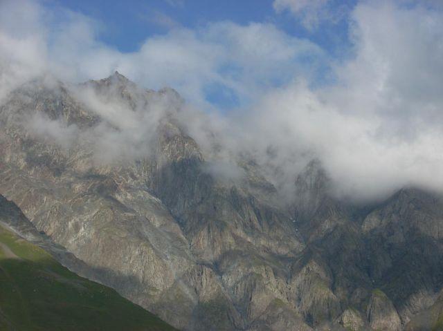 Zdj�cia: Kazbegi, Kaukaz, Wysokie g�rki, GRUZJA