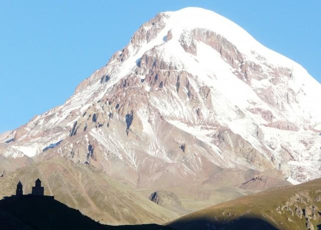 Zdjęcia: Kazbegi, Kaukaz, Gruzja Kazbek, GRUZJA