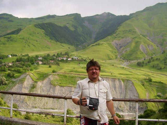 Zdjęcia: Droga do Kazbegi, droga wojenna, Góry, GRUZJA