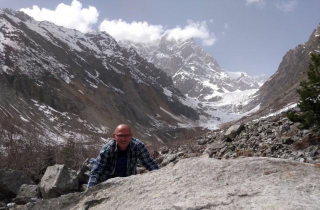 Zdjęcia: Lodowiec Chadaali, Swanetia, U stóp lodowca Chadaali, GRUZJA