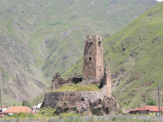Zdjęcia: okolice Kazbegi, Kaukaz, droga do Juty II, GRUZJA