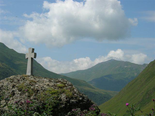 Zdjęcia: okolice Kazbegi, Kaukaz, Juta II, GRUZJA