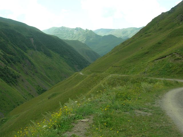 Zdj�cia: okolice Kazbegi, Kaukaz, Juta III, GRUZJA